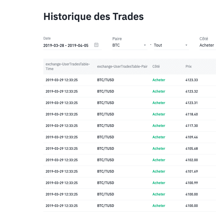 Binance market buy 3