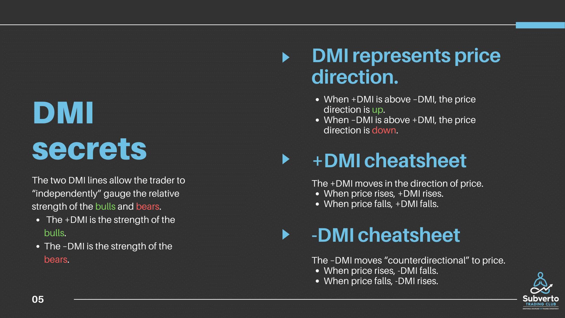 DMI secrets