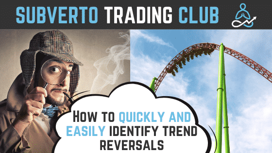 How to identify trend reversals
