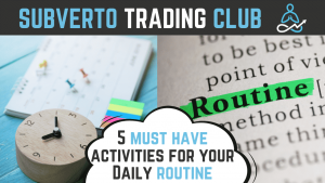 5 must have activities for your daily routine
