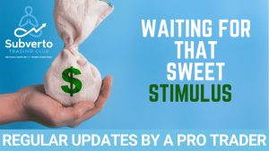 Waiting for that sweet stimulus